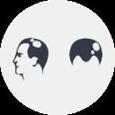 Spring Icon für vernarbenden Haarausfall.