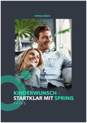 Spring Booklet Kinderwunsch