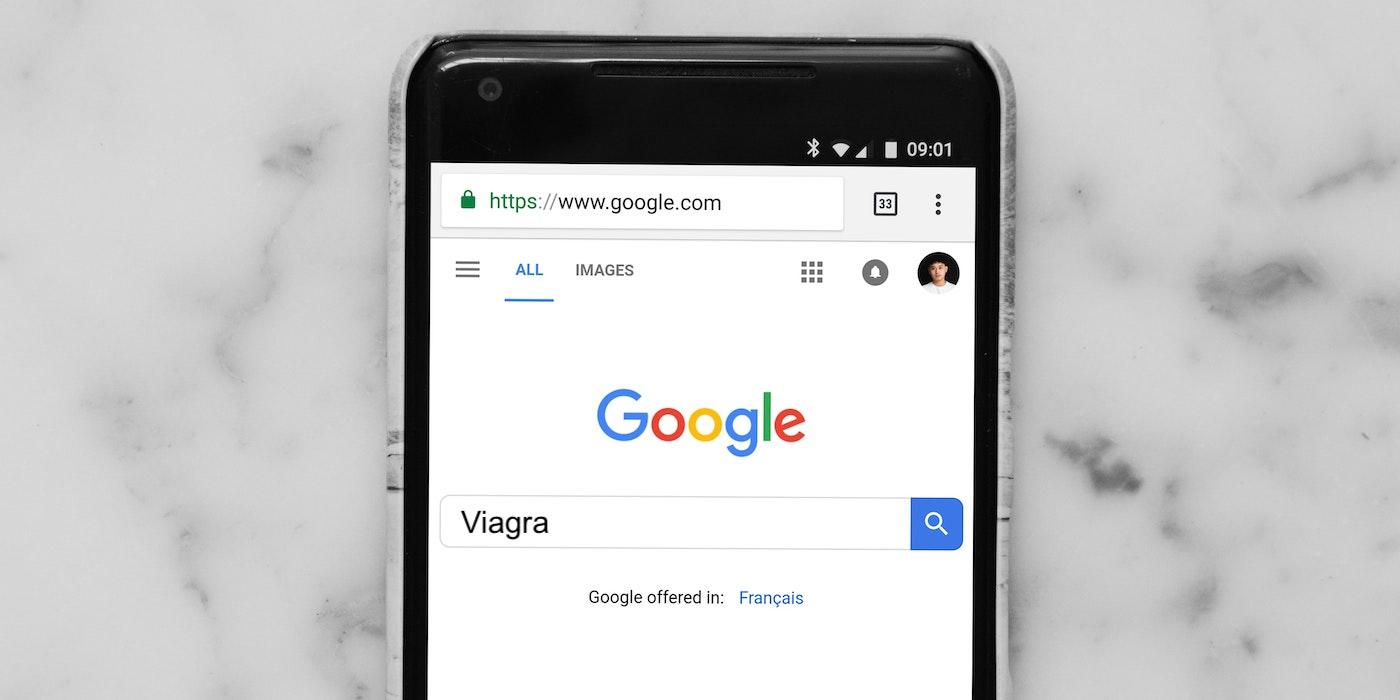 Google Suche auf dem iPhone | Charles Deluvio - Unsplash