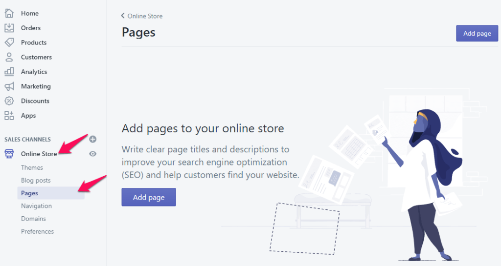 How to Add an About Us Page in Shopify (and what to include