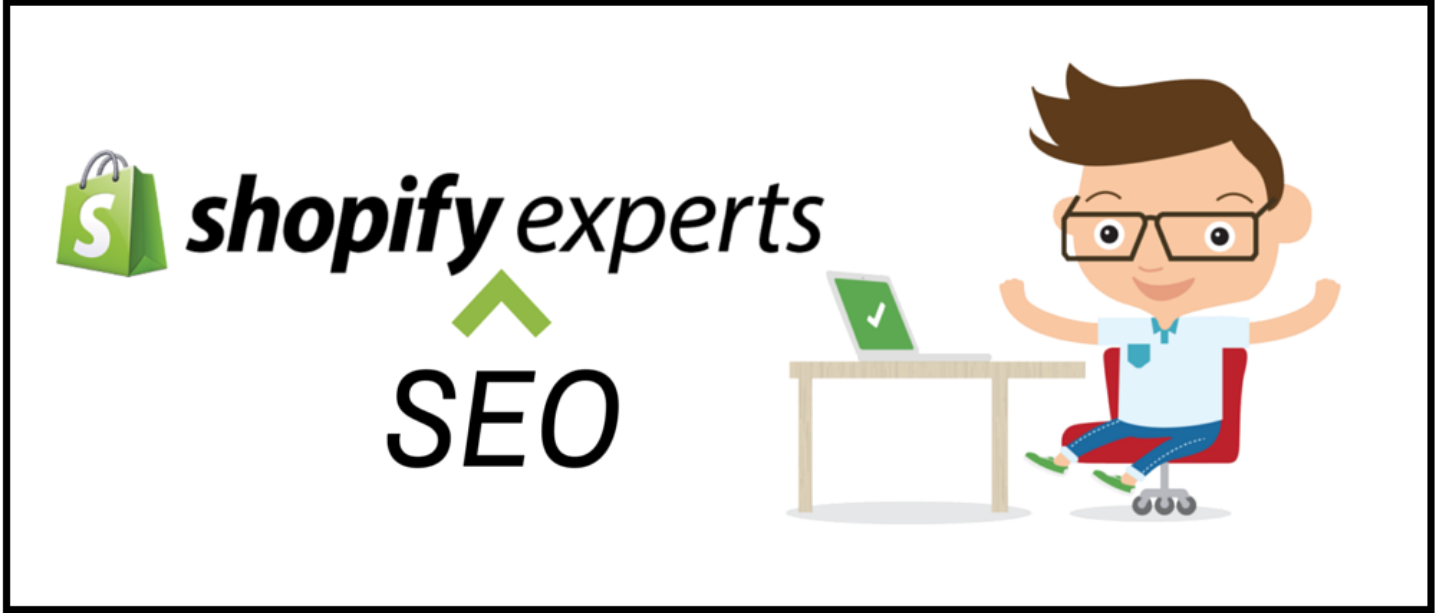 Illustration of a Shopify SEO Expert
