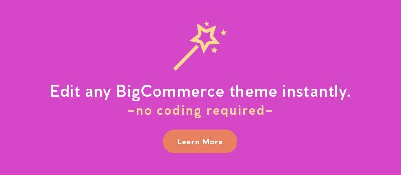 Edit any BigCommerce theme