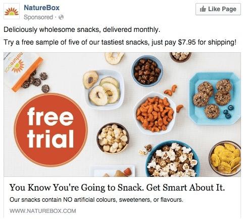 NatureBox ad