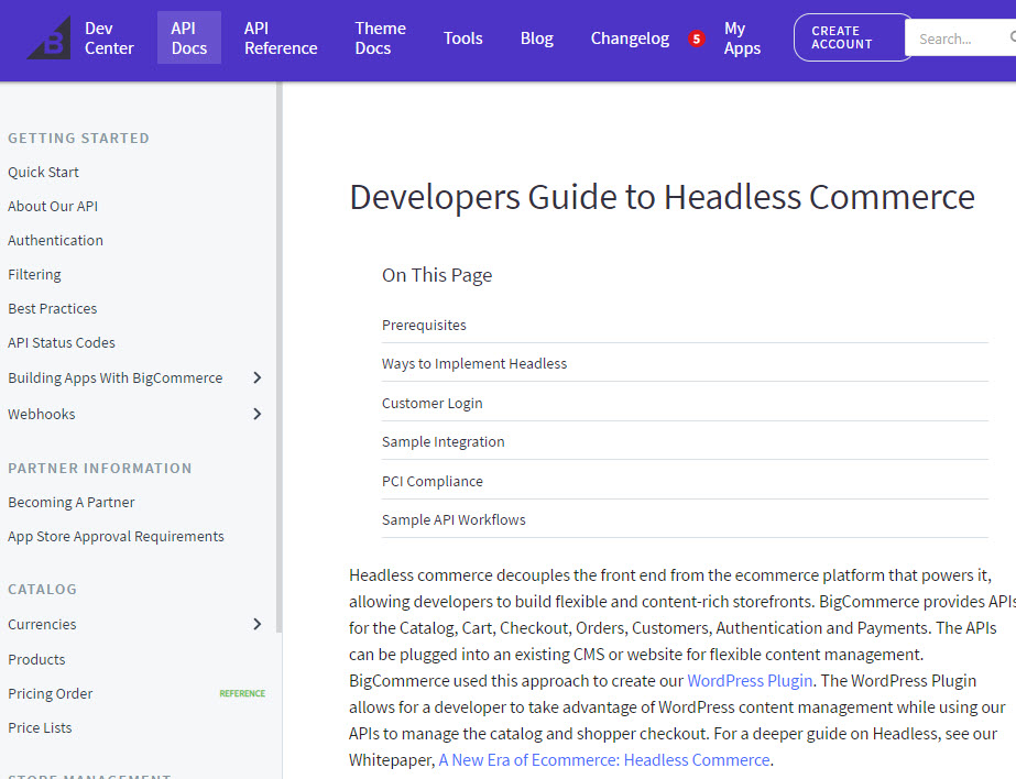 developers guide to headless commerce