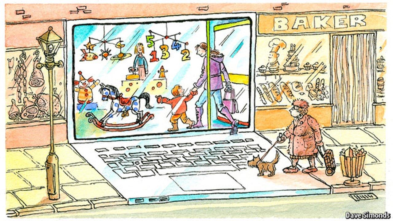 Ecommerce illustration