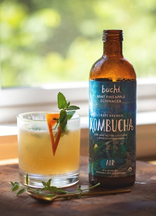 Summer Air Kombucha Mocktail Recipe