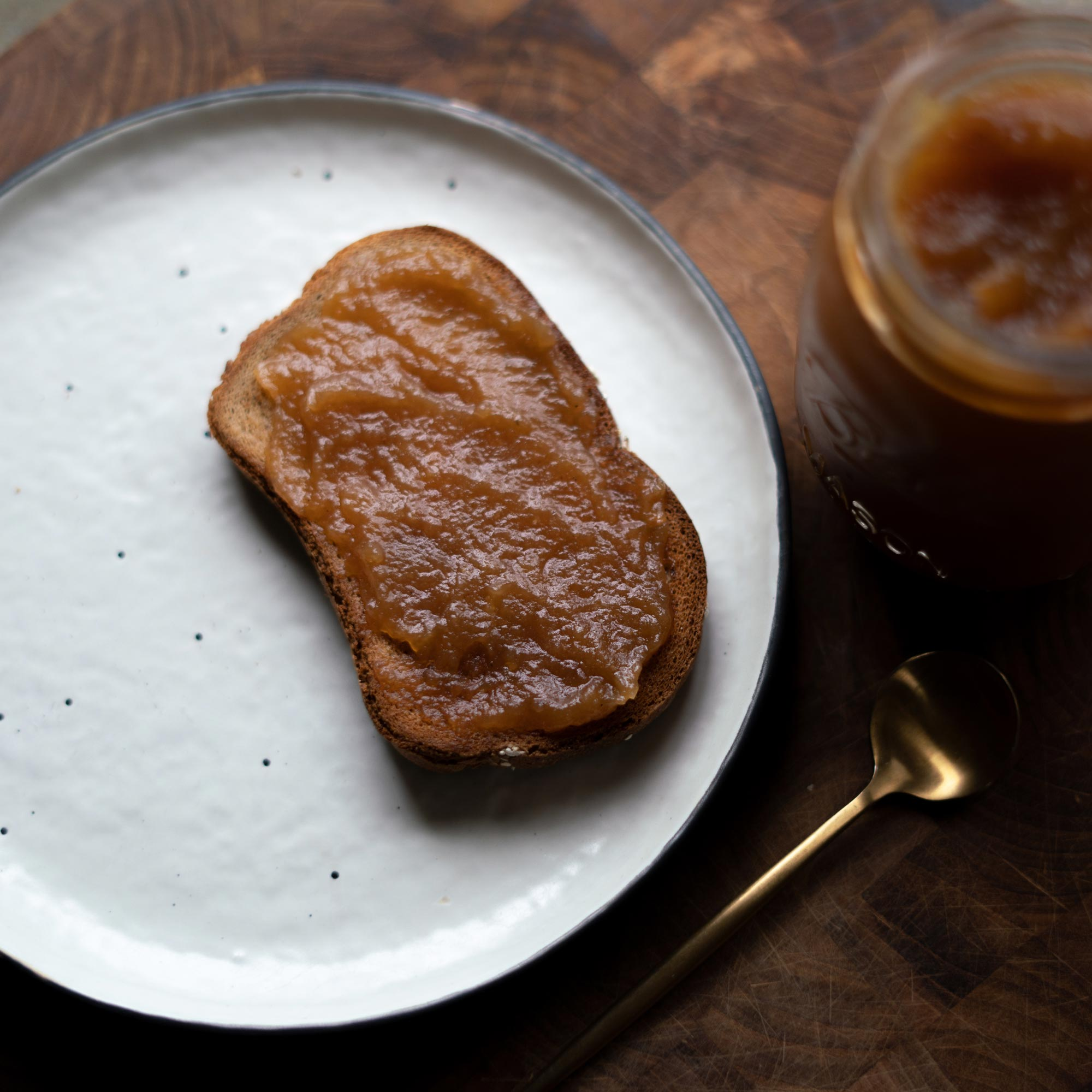 Kombucha Apple Butter