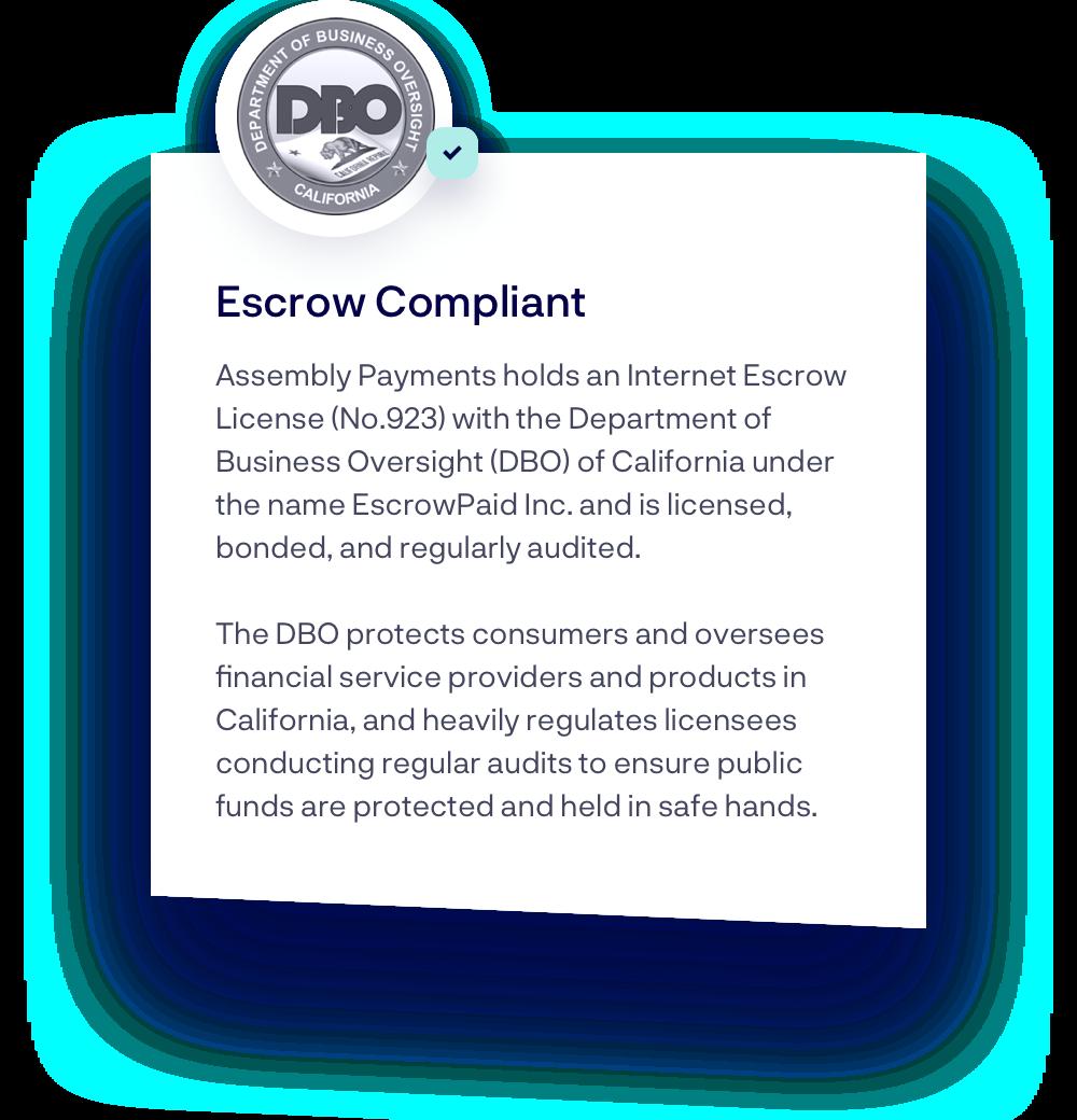 Escrow Compliant