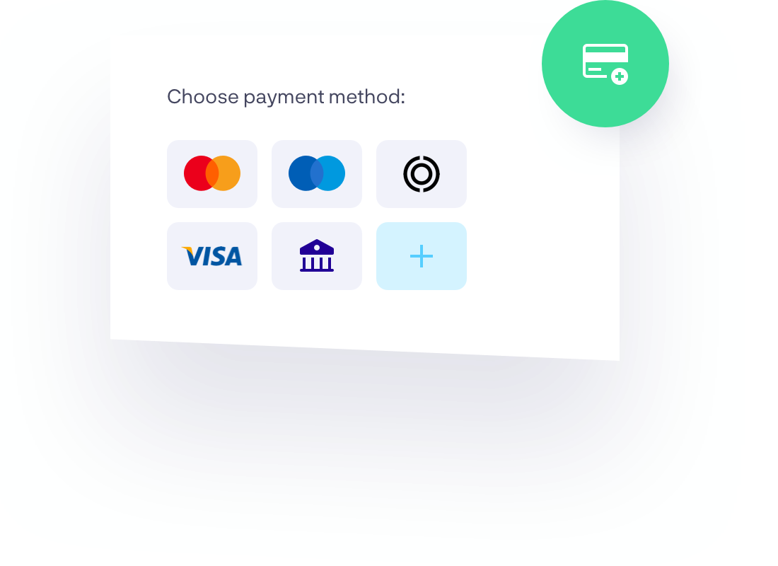 Payment Methods Card