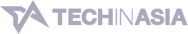 Tech in Asia logo greyscale