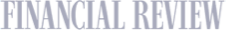 Financial Review logo greyscale