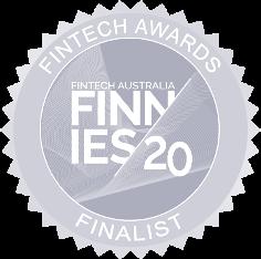Finnies 2020 logo greyscale