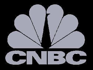 CNBC logo greyscale