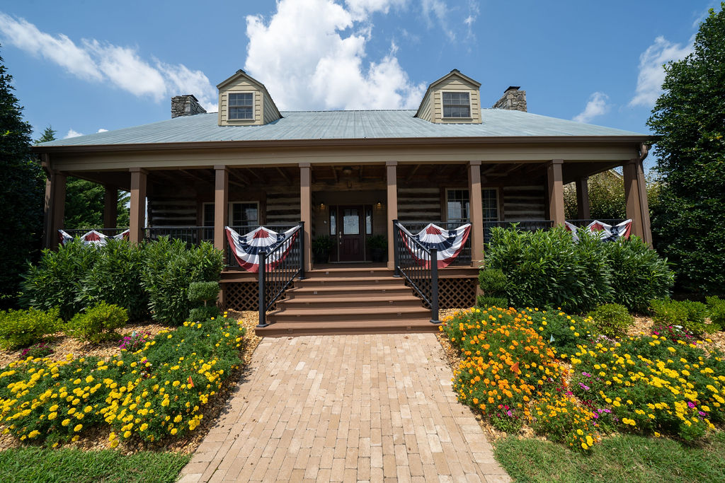 Front of Twin Creeks Village main office