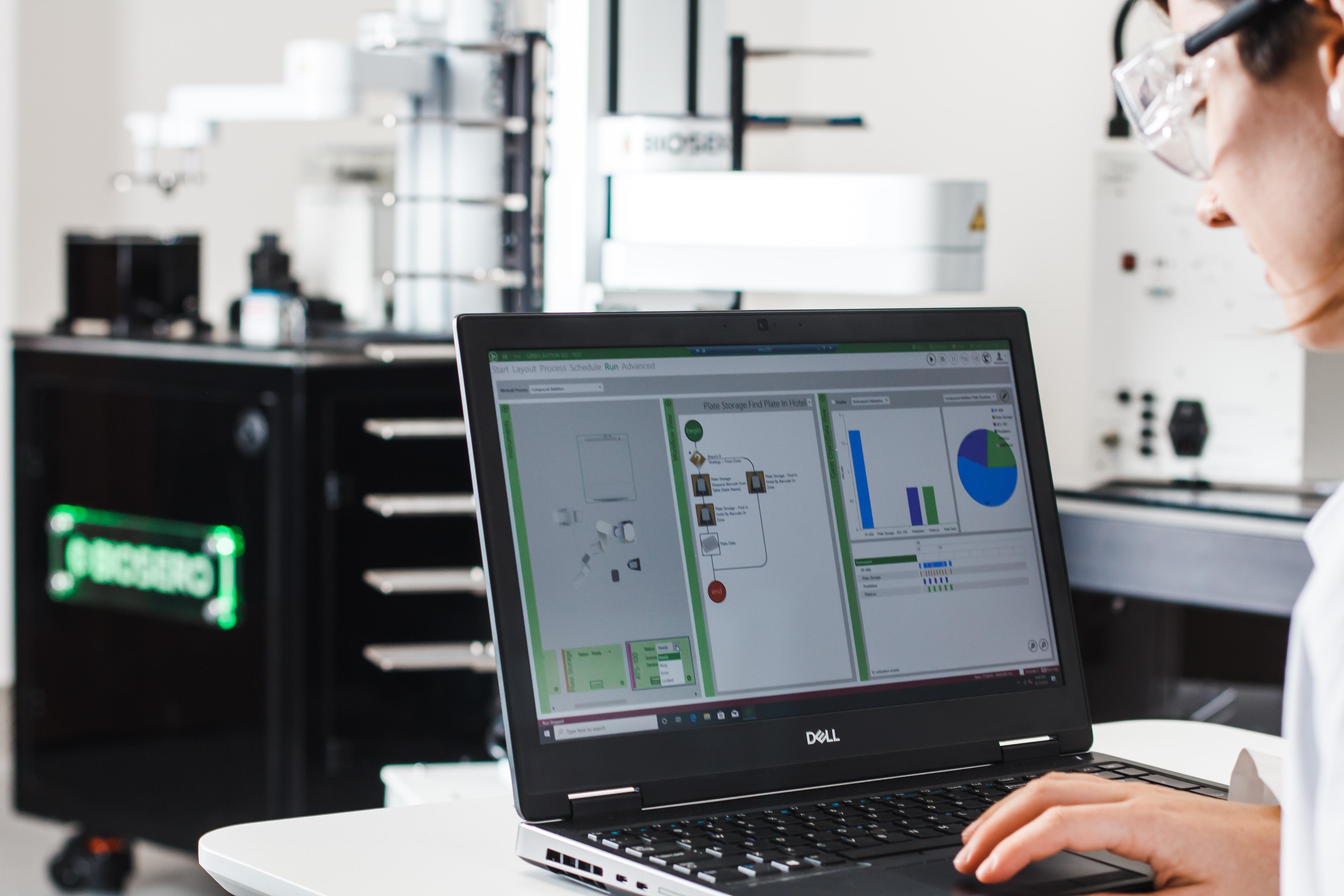Biosero Provides Free Green Button Go Software License for COVID-19 Response Efforts