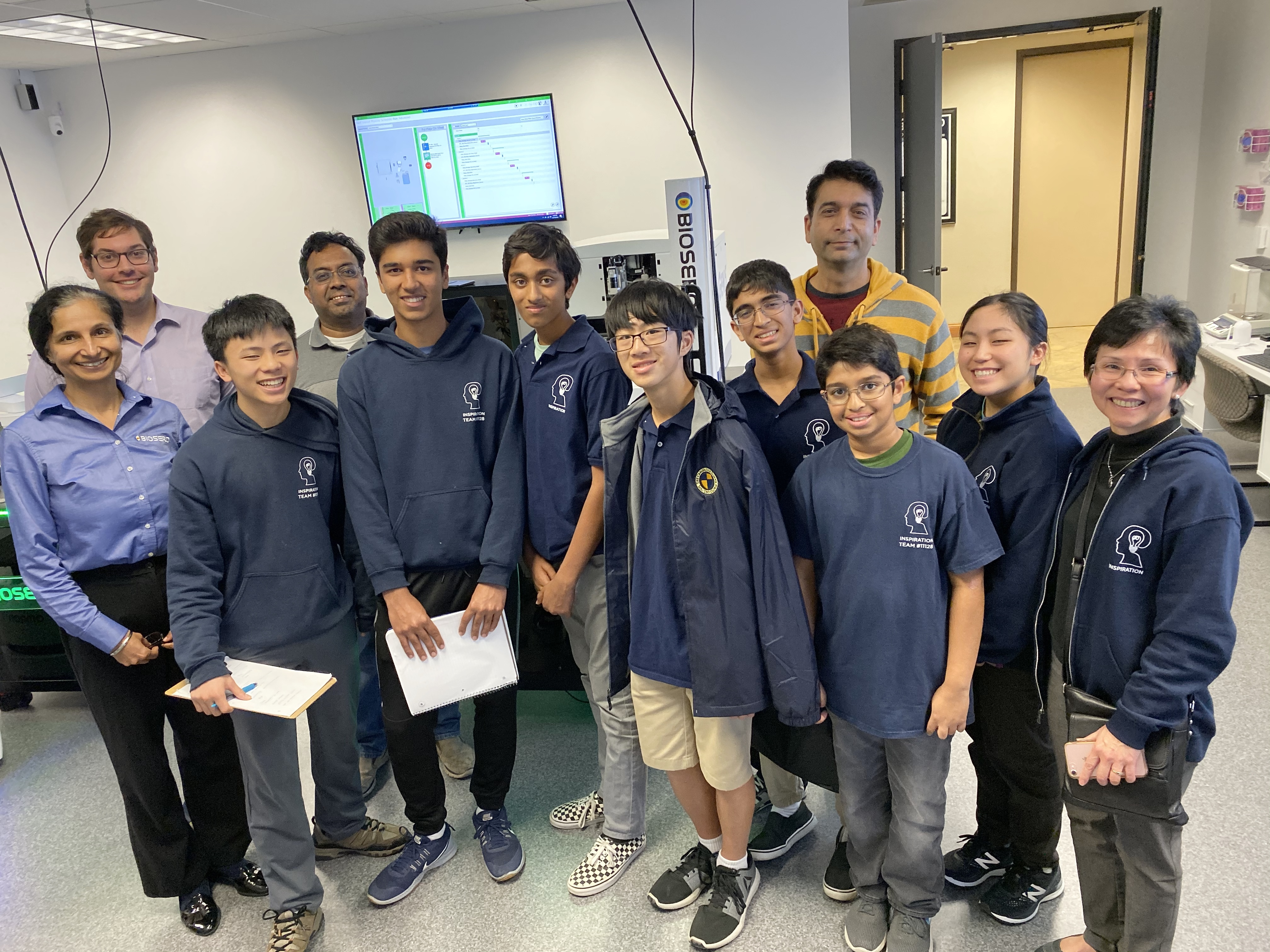 Team Inspiration Wins 1st Place at International Robotics Competition