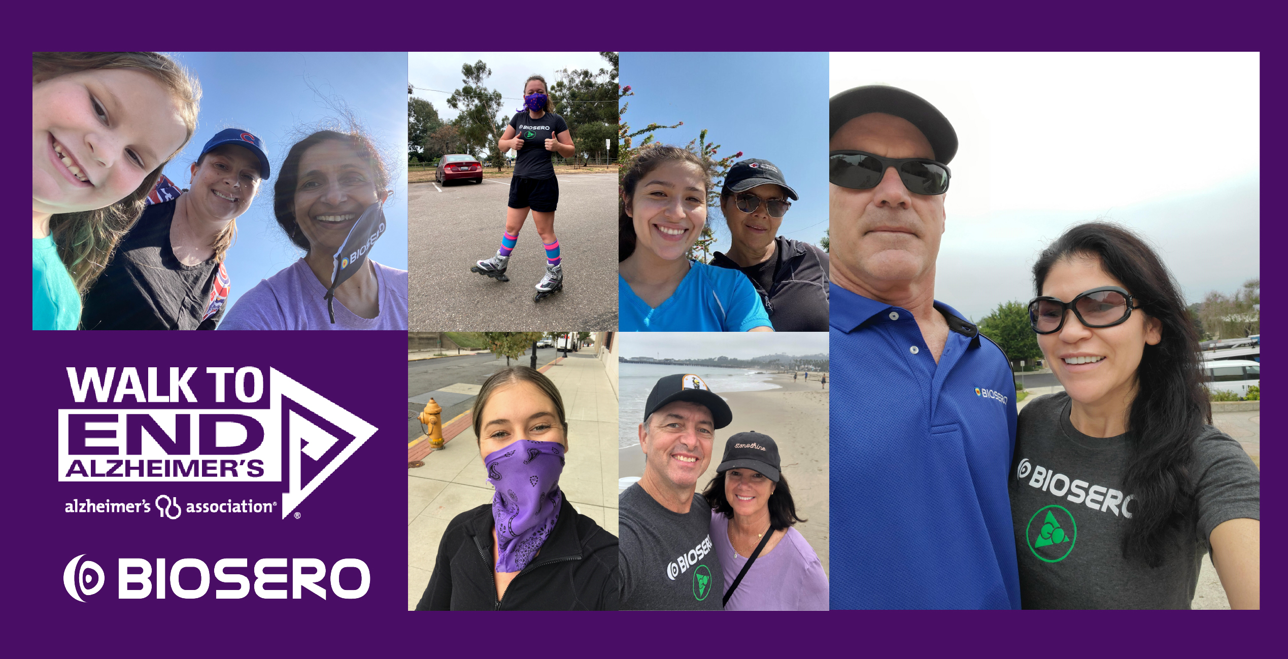 Biosero Takes Part in the Walk to End Alzheimer's 2020