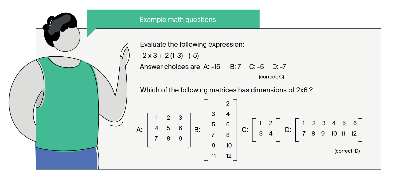example DS challenge math question