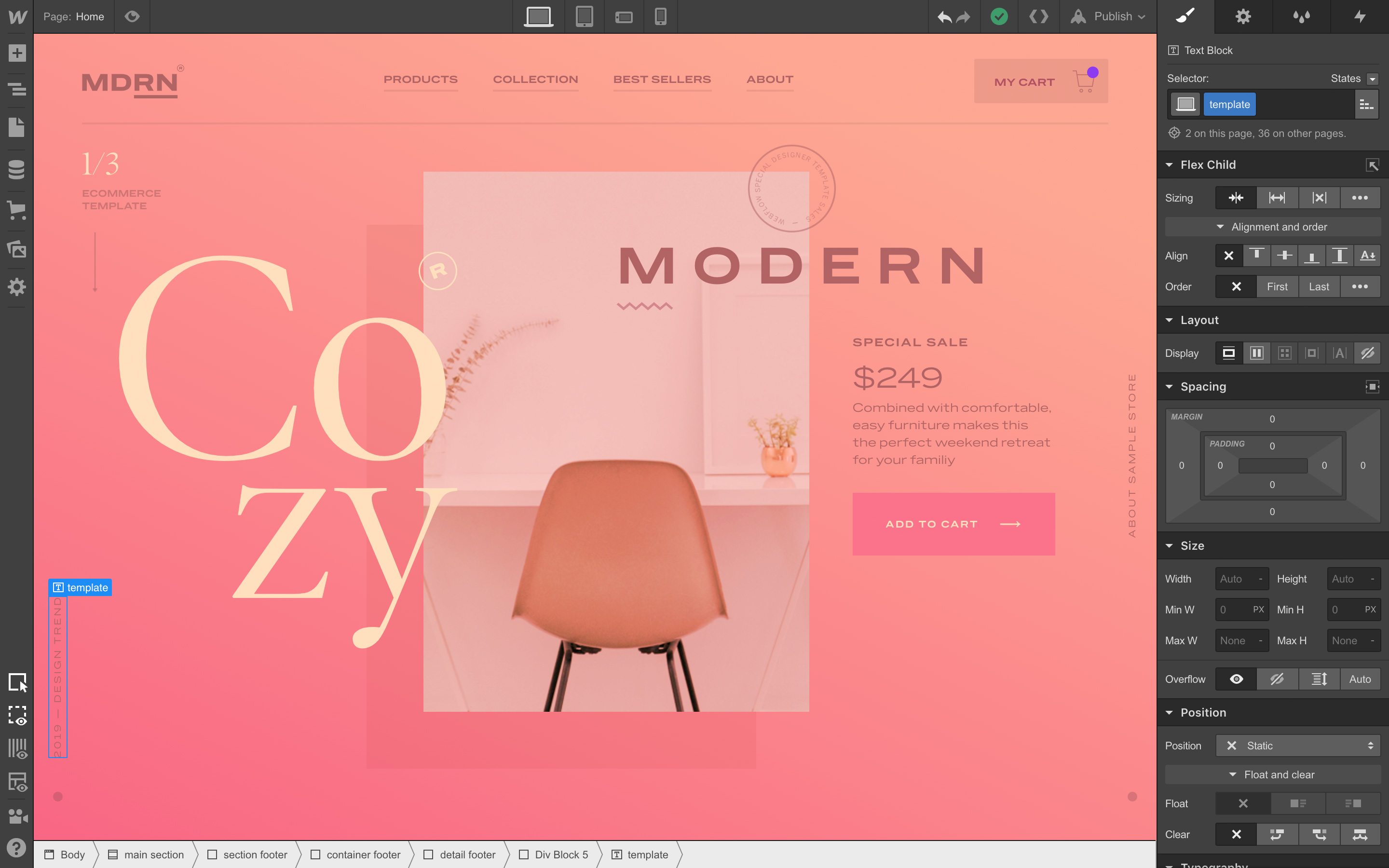 Web Design Software For Designers And Developers Webflow