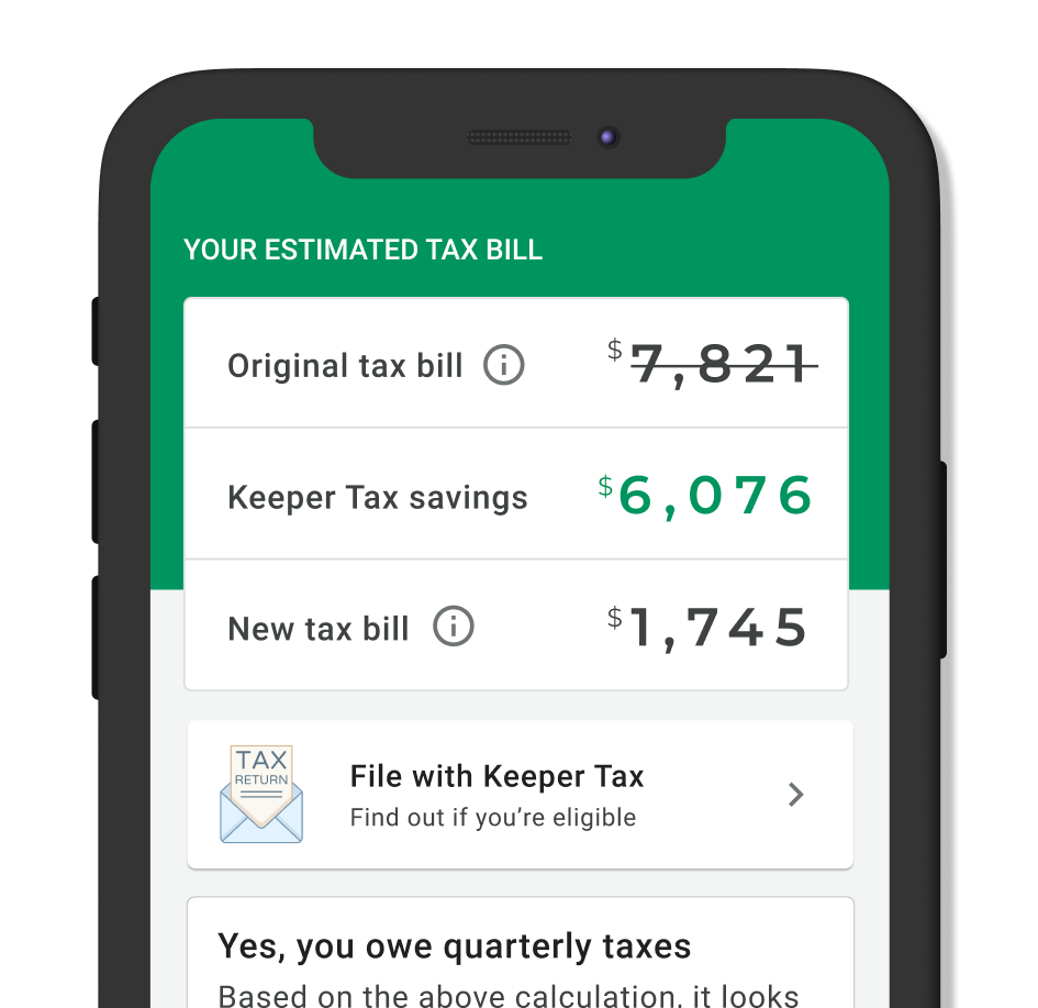 text messages Keeper tax on saving money