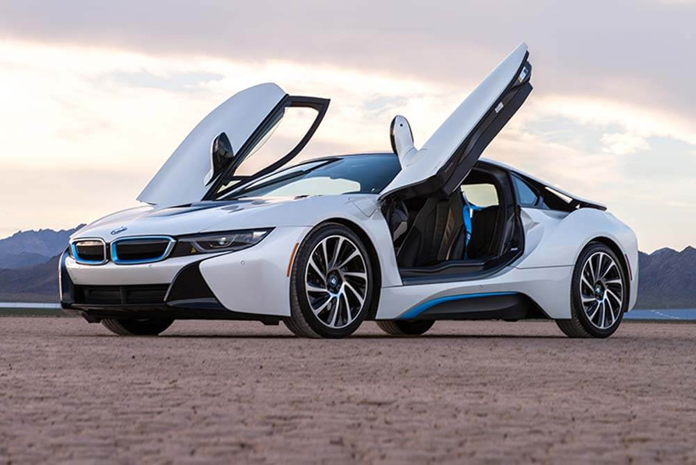 Rent A 2016 Bmw I8 White With Unlimited Miles