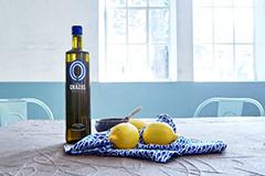 Biologische olijfolie uit de bergen van Kreta