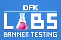 DFK banner testing method