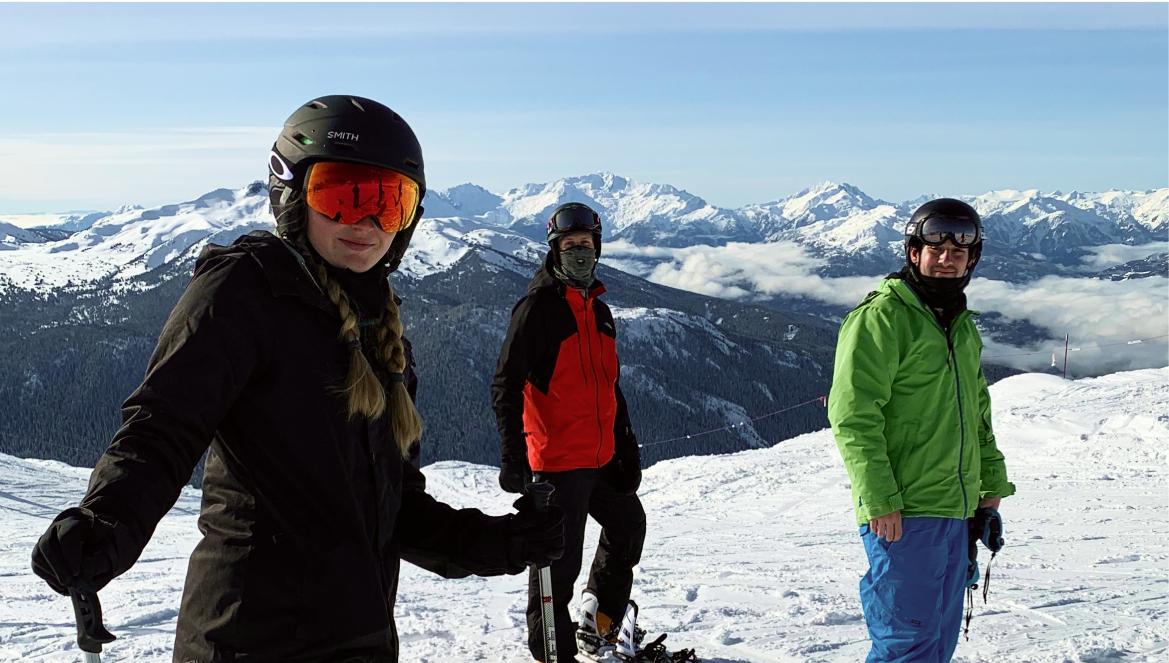 team ski day