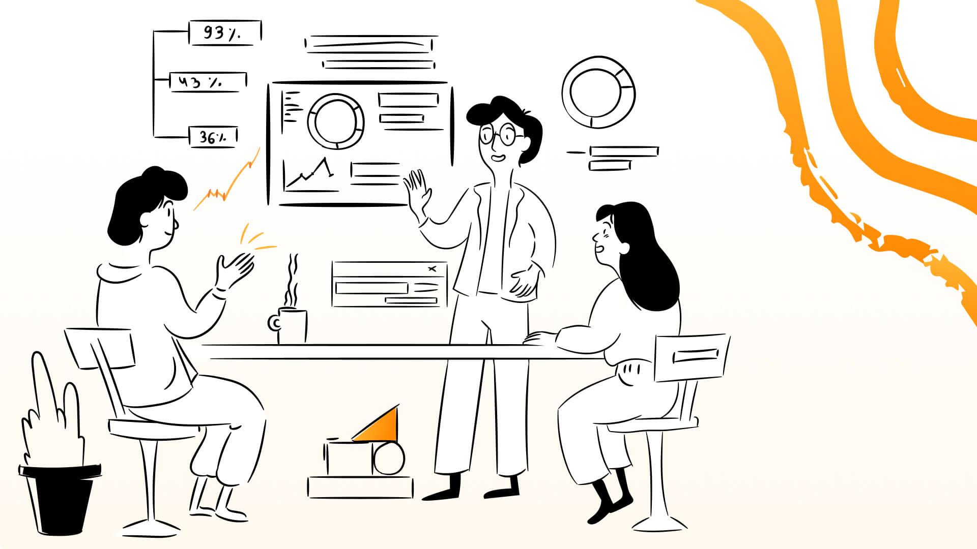 Mentorship increases employee engagement.