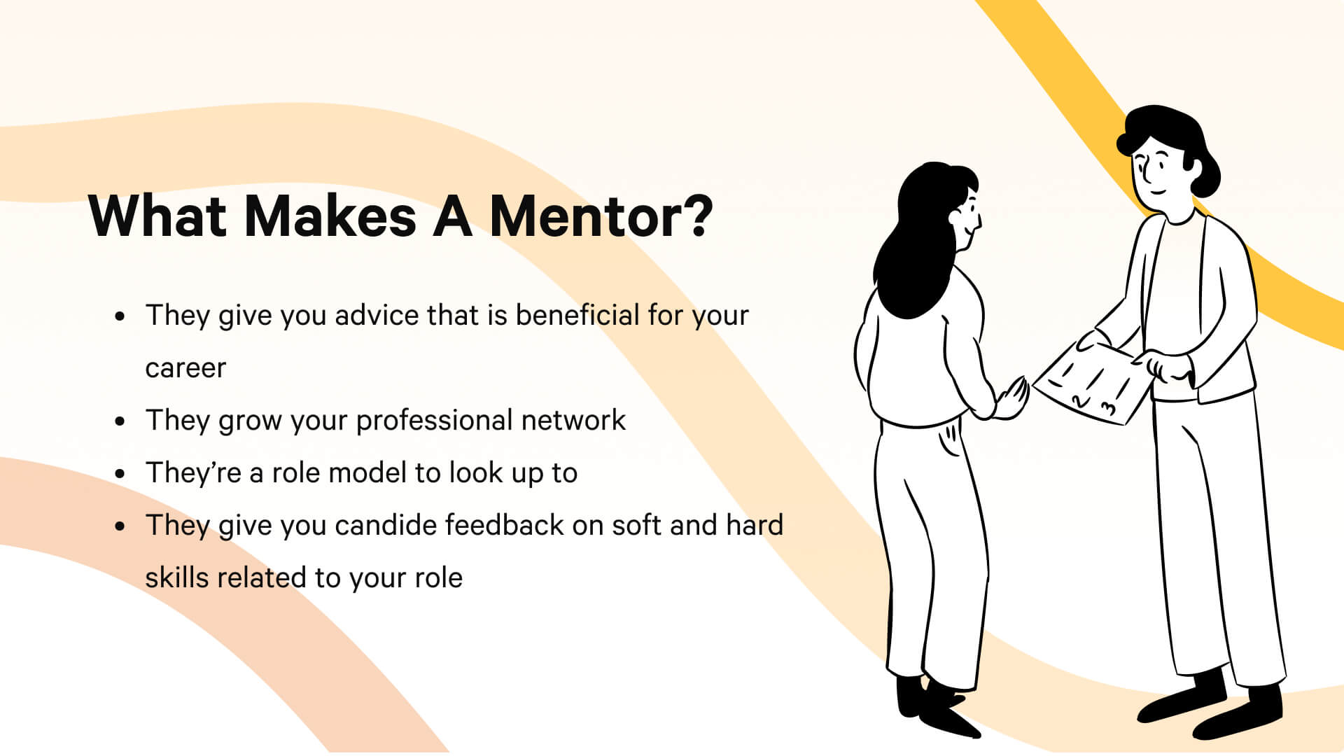Four points that make a mentor