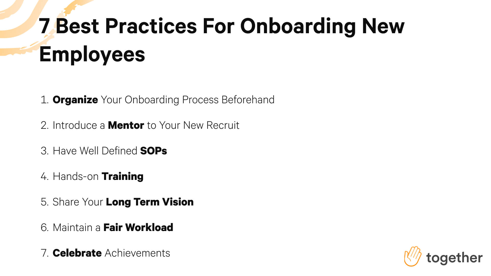 7 Best Practices for Onboarding New Employees