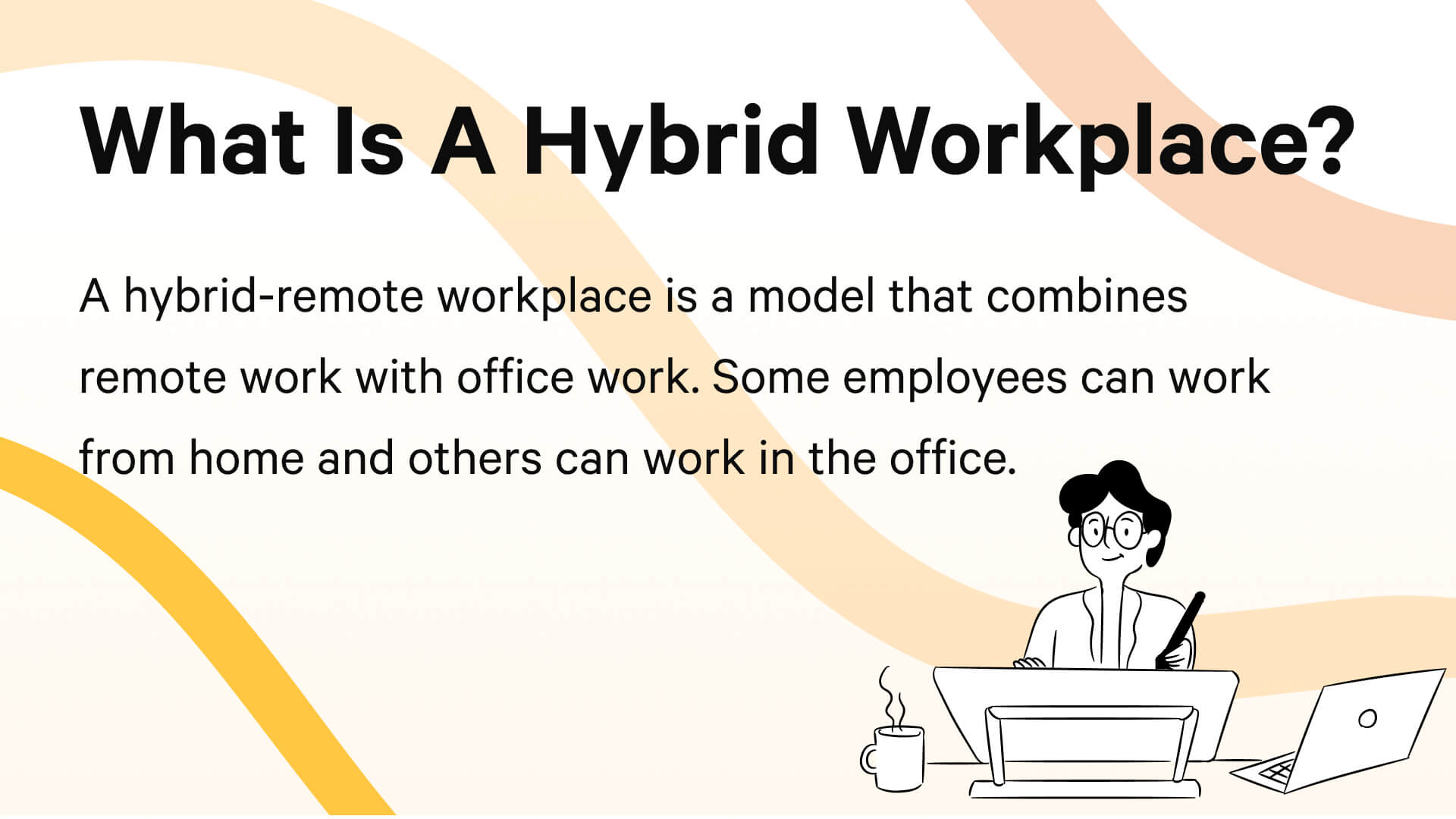 What is a hybrid workplace? A definition.