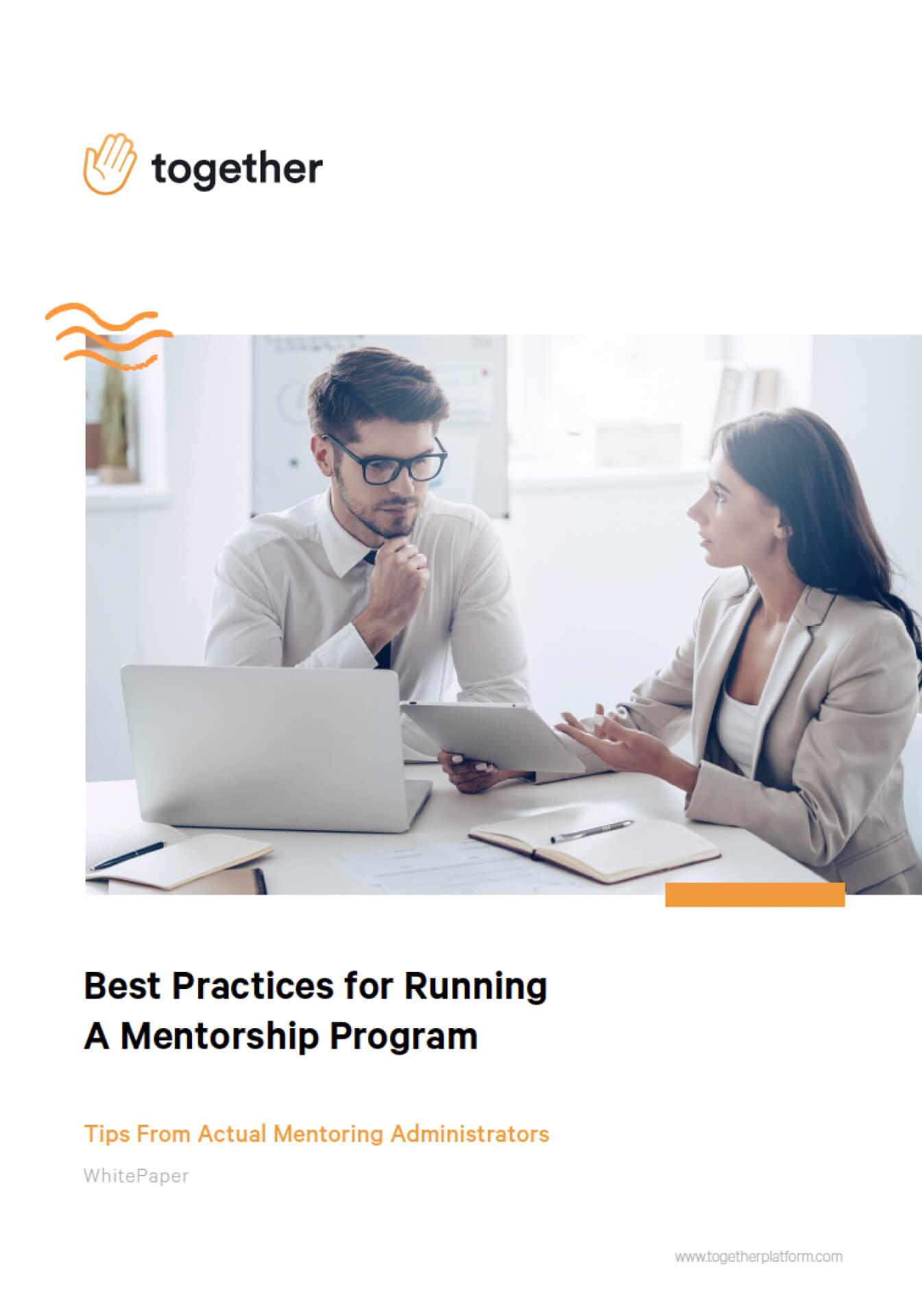 Best Practices for Running A Mentorship Program