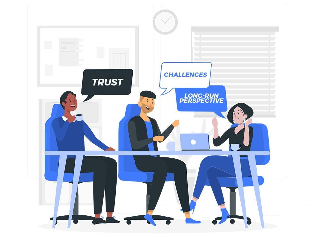 The best strategies to retain talent are to focus on building trust, giving employees challenging work, and focusing on their growth and development over the long term.