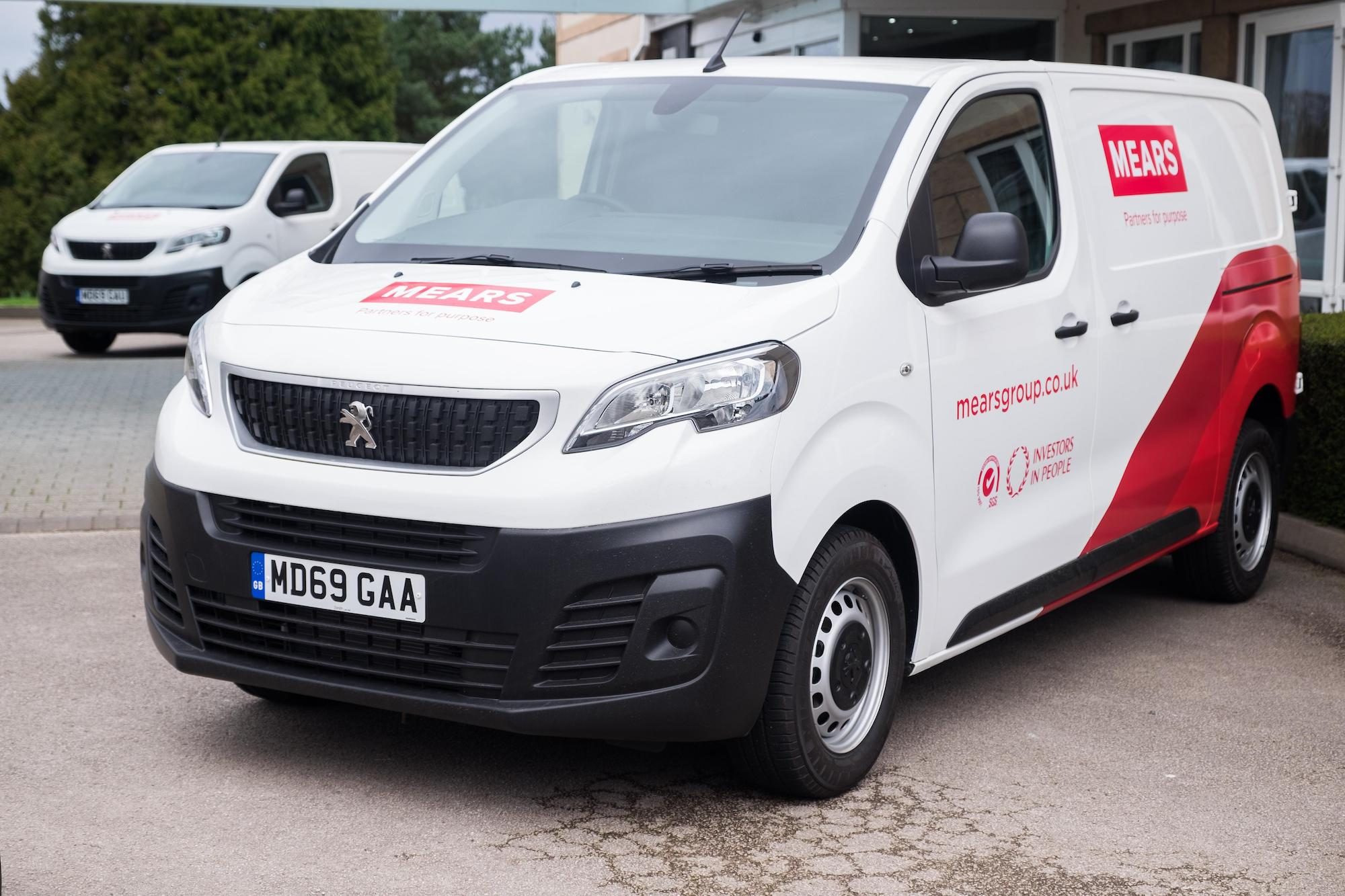 A Mears work van