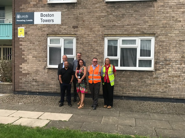 Local Leeds charity, Touchstone that provides health and well-being services to marginalised groups across Yorkshire recently benefitted from refurbishment and upgrade works by Mears Group.