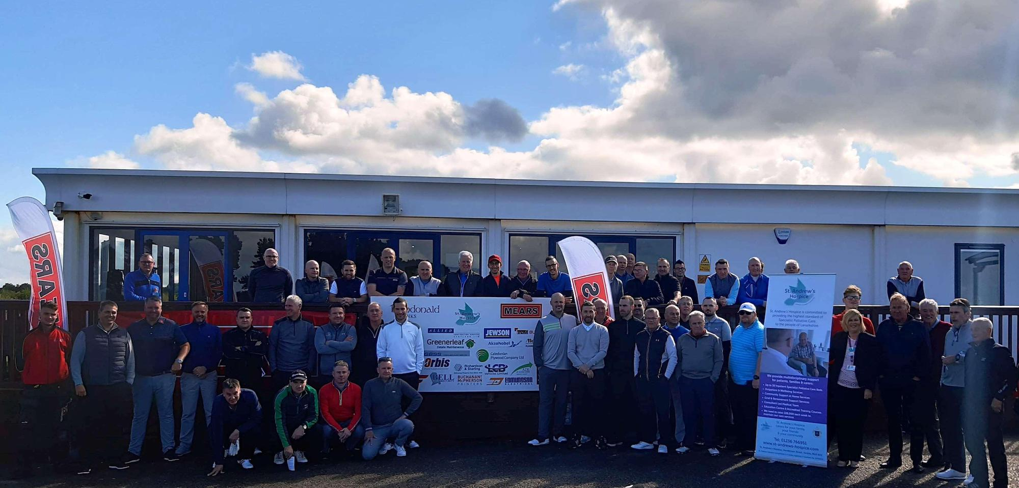 Mears Group, who work in partnership with North Lanarkshire Council, have raised £11,500 at this year's Mears Charity Golf Day held at Dundonald Links for St Andrew's Hospice.