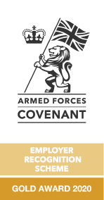 Armed Forces Covenant - Gold Award