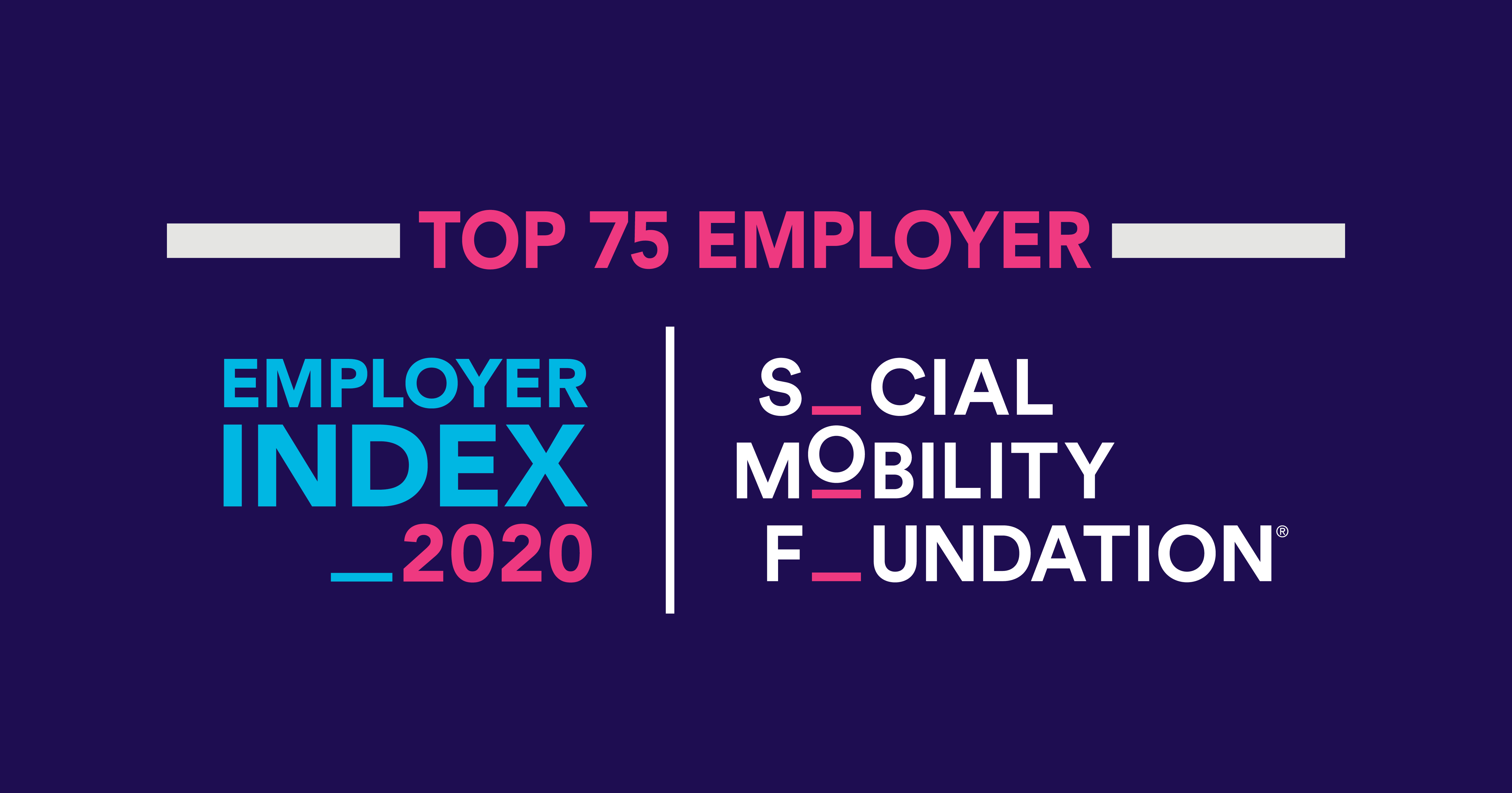 Mears ranked as a Top 75 employer in 2020 for Social Mobility