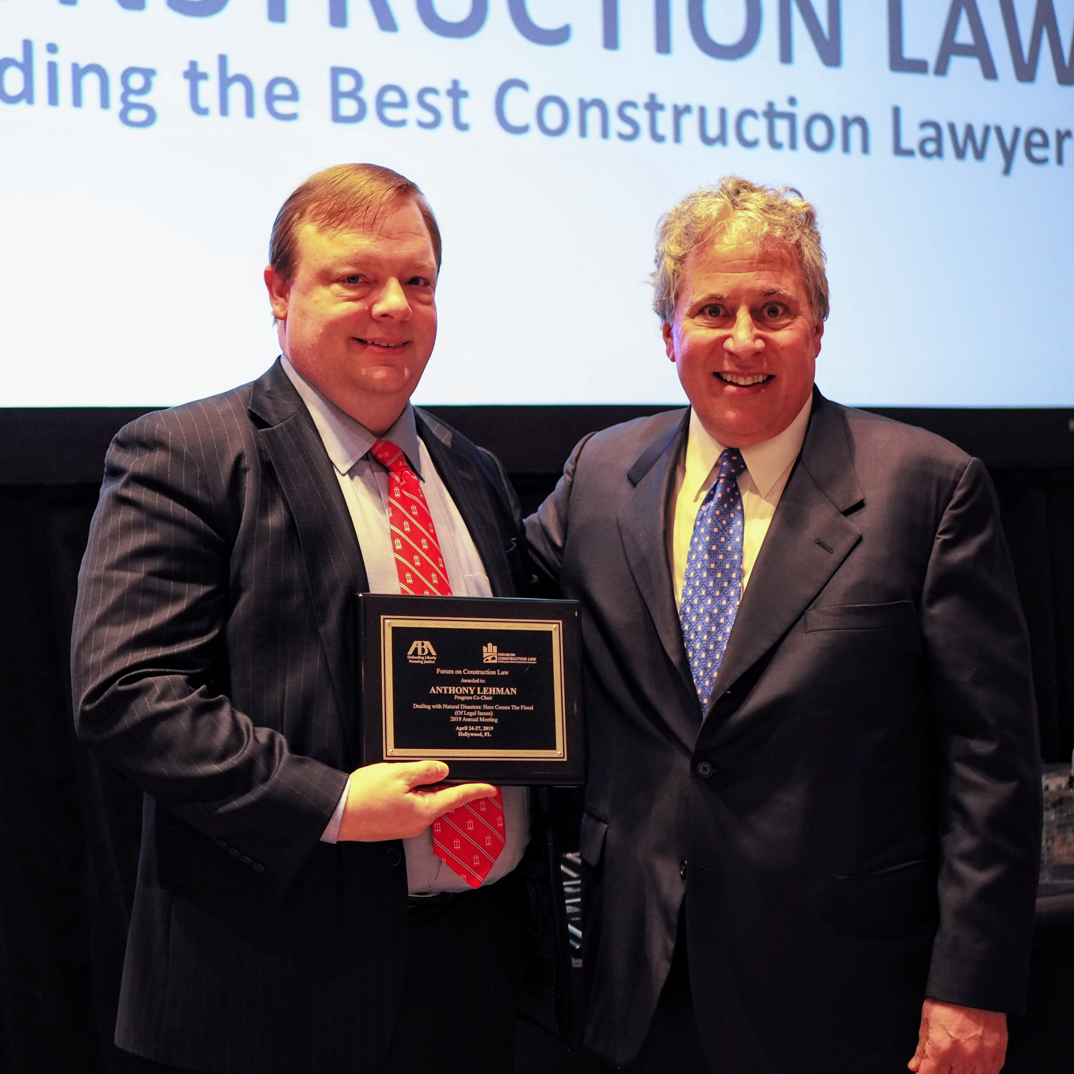 HPW Partner Tony Lehman Co-Chairs ABA Forum on Construction Law Annual Meeting