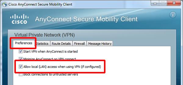settings synergy vpn