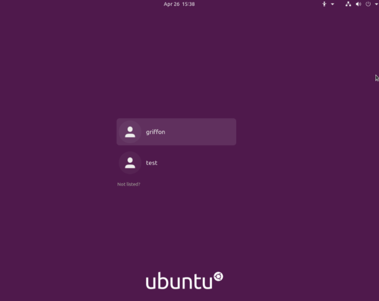 ubuntu login synergy