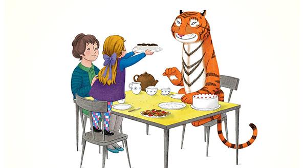 Tigeren der kom til te