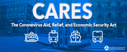 Coronavirus Aid, Relief, and Economic Security (CARES) Act graphic