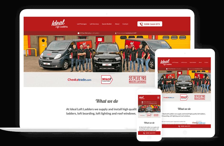 Responsive web design london