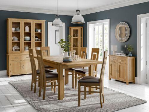 Devonshire Pine - BEVERLEY OAK - Living & Dining