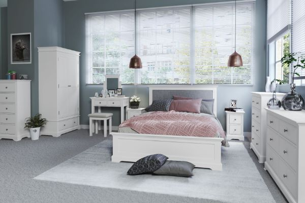 Kettle Interiors - EIFFLE WHITE - Bedroom