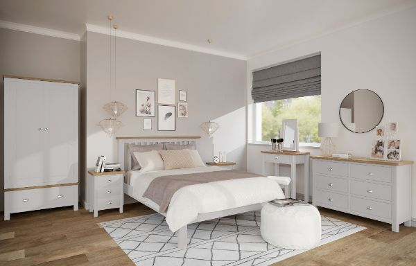 Kettle Interiors - RAYWELL TRUFFLE PAINTED - Bedroom