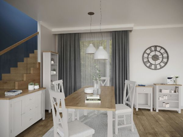 Kettle Interiors - RAYWELL TRUFFLE PAINTED - Living & Dining