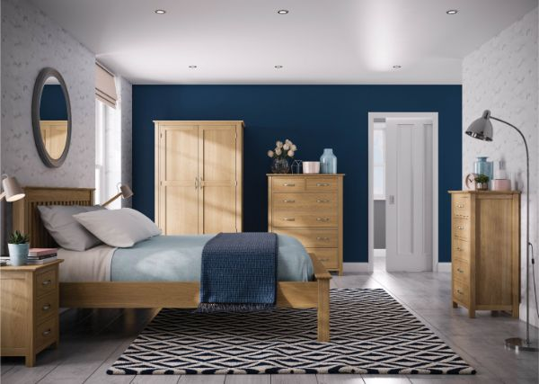 Devonshire Pine - BEVERLEY OAK - Bedroom
